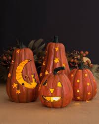 Decorations Horrific Carved Pumpkin Halloween Decoration Ideas