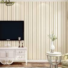 beibehang helle hintergrund plain plain tapete schlafzimmer wohnzimmer papel de parede 3d streifen tapeten wohnkultur decke
