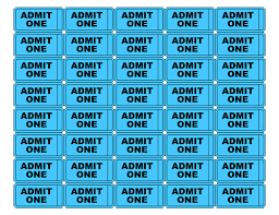 500x386 Admit One Tickets It39s My Party Classroom