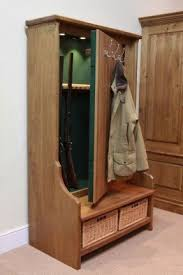 Hall Tree Gun Cabinet And 19 Other Places To Store