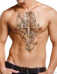 75 Stylish Cross Tattoos For Chest