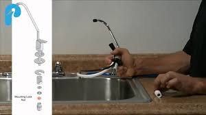 Tomlinson Faucets Reverse Osmosis by Pelican Pro Ro Installation Part 1 Faucet Youtube