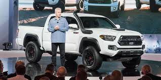 2018 - Toyota - Tacoma - Vehicles On Display | Chicago Auto Show 1999 Toyota Hilux 4x4 Single Cab Pickup Truck Review Youtube What Happened To Gms Hybrid Pickups The Truth About Cars Toyota Abat Piuptruck Lh Truck Pinterest Isnt Ruling Out The Idea Of A Pickup Truck Toyotas Future Lots Trucks And Suvs 2018 Tacoma Trd Sport 5 Things You Need To Know Video Payload Towing Capacity Arlington Private Car Hilux Tiger Editorial Image Update Large And Possible Im Trading My Prius For A Cheap Should I Buy