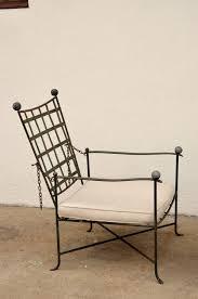 Salterini Iron Patio Furniture by Reclining Armchair By Mario Papperzini For John Salterini
