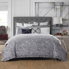 Tommy Hilfiger Curtains Mission Paisley by Tommy Hilfiger Josephine Paisley Cotton 3 Piece Comforter Set