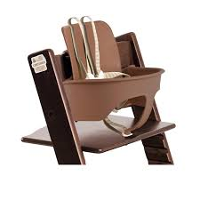 stokke tripp trapp baby set walnut brown ca baby