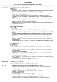 IT Team Leader Resume Samples | Velvet Jobs 10 Real It Resume Examples That Got People Hired At Microsoft Business Analyst Sample Monstercom 30 View By Industry Job Title Unforgettable Registered Nurse To Stand Out College Student Grad And Writing Tips Technician Example With Summary Statement For Your 2019 Application News Reporter Journalist Formats Qa Manager Samples Templates Pdfword Quantum Tech Rumes Bartender