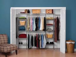 deluxe wire closet organizer in chrome wire shelf additions