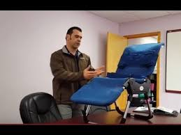 demonstration for the leckey advance bath chair youtube