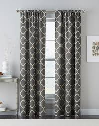 Moroccan Lattice Curtain Panels by Grey Trellis Curtain Panel Home Design And Decoration