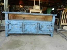 Rustic White Tv Stand 8