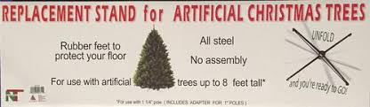 Christmas Tree Stands At Menards by Enchanted Forest Deluxe Metal Artificial Christmas Tree Stand At