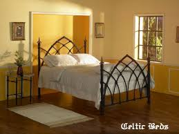 the wrought iron bed company celtic beds gothic bed