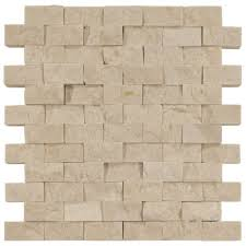 part of our casa antica collection of mosaic marble this split