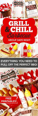 Everything You Need To Pull Of The Perfect BBQ For A Group Date Night Free