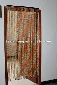 Bamboo Beaded Door Curtains by Bamboo Bead Curtain With Flamingo Door Best 25 Beaded Curtains