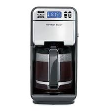Hamilton Beach 46205 Coffee Maker Programmable With 12 Cup Capacity Stainless Steel