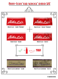 Nuka Cola Lamp Etsy by Great Nuka Cola Labels For Making Your Own Nuka Cola And Nuka Cola