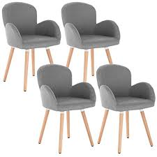 grau sitzfläche aus leinen holzgestell design stuhl