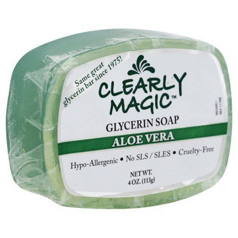 Clearly Natural Glycerine Soap - Unscented, 120ml