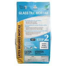 Thinset For Glass Mosaic Tile by Shop Tec White Powder Polymer Modified Thinset Mortar At Lowes Com