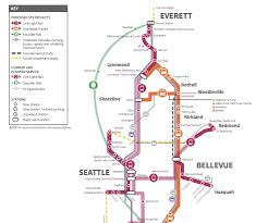 Sound Transit Unveils $50 Billion Light Rail Package Including