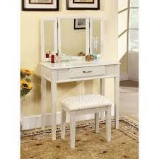bedroom cheap white vanity desk dark wood makeup vanity white