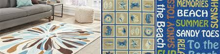 Indoor Outdoor Coastal Area Rugs