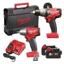 Milwaukee Tool United Kingdom Power by Milwaukee M18fpp2b 502x M18 Fuel Twin Pack M18 Fpd Percussion