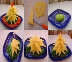 Fruit Christmas Tree Awesome Thing To Try At Home On This