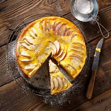 schoko apfelkuchen mit eierlikör guss
