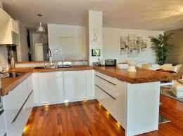 cuisine blanche et plan de travail bois cuisine blanche plan de travail bois cuisine bois plan de travail
