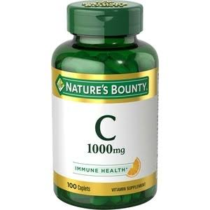 Nature's Bounty Pure Vitamin C - 100 Caplets