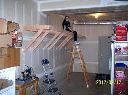 Build Wood Garage Shelf by Wooden Garage Shelves U2013 Moonfest Us