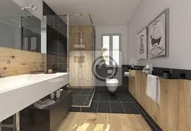 klein raffiniert modern bad badezimmer duschbad minibad poster myloview