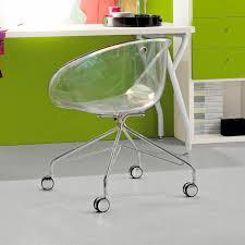 bureau enfant metal chaise de bureau contemporaine à roulettes pour enfant en