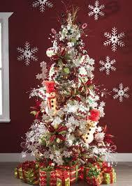 Snowman Themed Christmas Tree Design