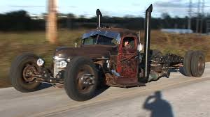100 Rat Rod Semi Truck BIG NASTY Custom Air Ride INTERNATIONAL YouTube