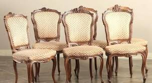 Dining Chair Set Of 6 Antique Chairs Room Furniture