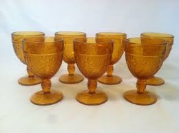How Lovely Would It Be To Handpick Vintage Drinking Glasses For A Smaller Garden Party Style Wedding