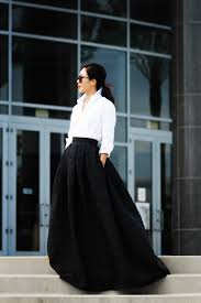 how to style a maxi skirt the everygirl