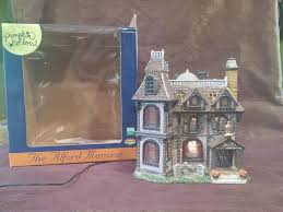 Lemax Halloween Village 2012 by Lemax Pumpkin Hollow Halloween Village Set The Alford Mansion