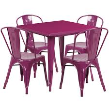 31.5'' Square Purple Metal Indoor-Outdoor Table Set With 4 Stack Chairs Jack Daniels Whiskey Barrel Table With 4 Stave Chairs And Metal Footrest Ask For Freight Quote Goplus 5 Pcs Black Ding Room Set Modern Wooden Steel Frame Home Kitchen Fniture Hw54791 30 Round Silver Inoutdoor Cafe 0075modern White High Gloss 2 Outdoor Table Chairs Metal Cafe Two Stock Photo 70199 Alamy Stainless 6 Arctic I Crosley Kaplan 4piece Patio Seating Oatmeal Cushion Loveseat 2chairs Coffee Rustic And Pieces Glass Tabletop Diy Patterns Pads Brown Tufted Target Grey