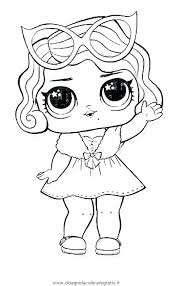 Doll Coloring Pages Lol Surprise Colouring To Print Dolls Printable