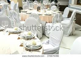 Exotic Banquet Table Decoration Festive Setting At A Round Wedding Reception Decorations Rustic