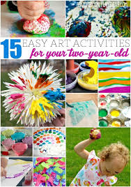 These Easy Art Activities For Two Year Olds Will Bring Out The Artist In Your Child
