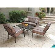 Mainstay Patio Furniture Company by Better Homes And Gardens Englewood Heights 4 Piece Outdoor