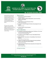UNESCO IACIU Journal Number 10 Oct