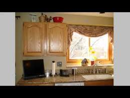 kitchen and remodeling kitchen curtains ideas youtube