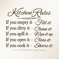 Best 25 Kitchen Rules Ideas On Pinterest
